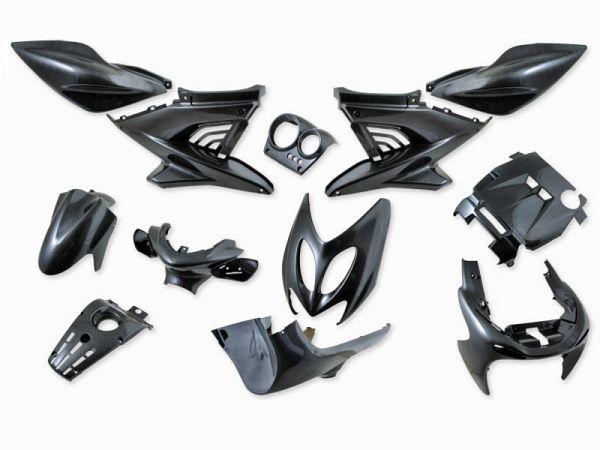 Shield set - Carbon, 12 parts