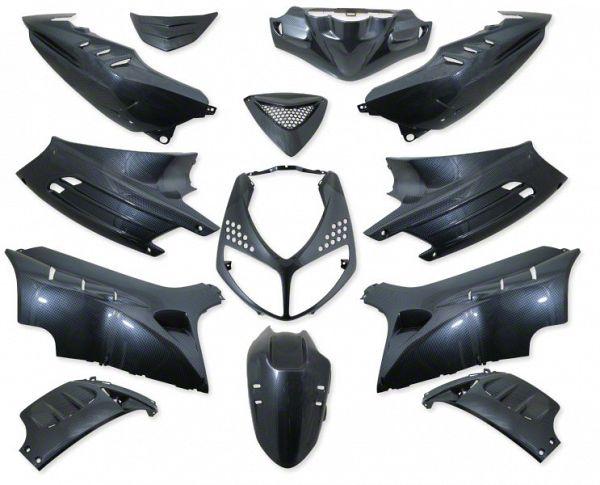 Shield set - Carbon, 13 parts
