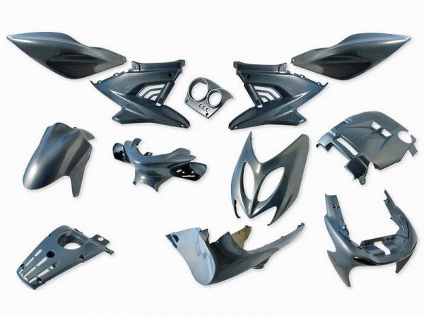 Shield set - Chameleon blue, 12 parts