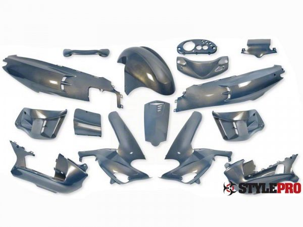 Shield set - Chameleon blue, 15 parts