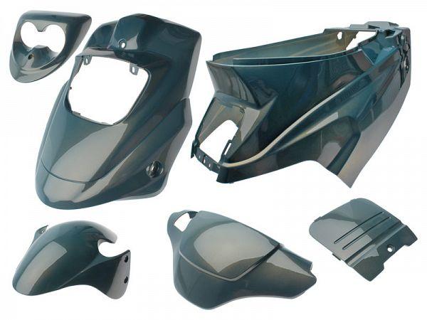 Shield set - Chameleon blue, 6 parts