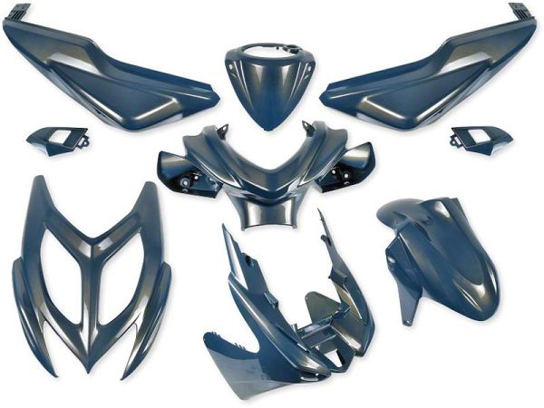 Shield set - Chameleon blue, 9 parts