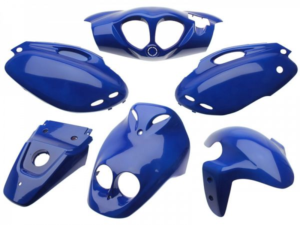 Shield set - Cobalt blue, 6 parts