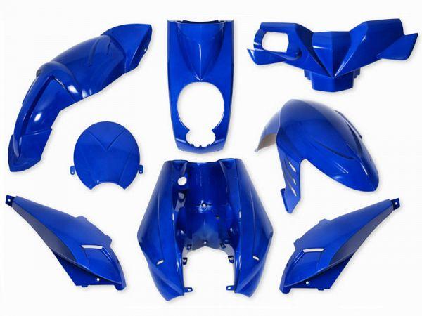 Shield set - Cobalt blue, 8 parts