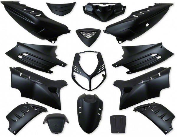 Shield set - Food black, 15 parts