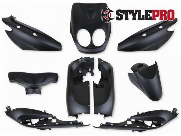 Shield set - Food black, 9 parts