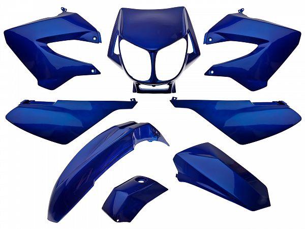 Shield set - metal blue