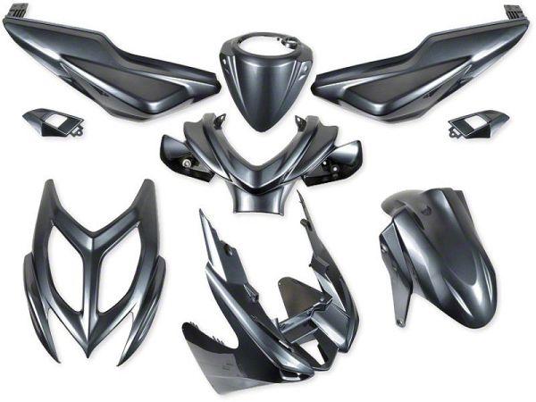 Shield set - Metal gray, 9 parts