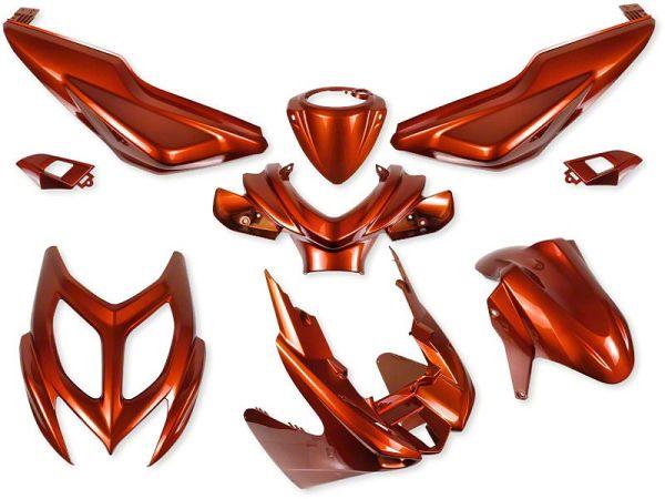 Shield set - Metal orange, 9 parts