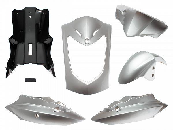 Shield set - Metal silver