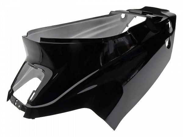 Shield under seat - metal black - original