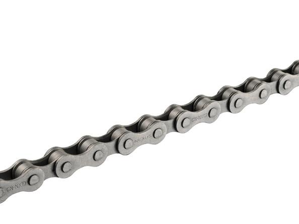 """Shimano CN-NX10 kæde, 1/2"""" x 1/8"""", 114L"""