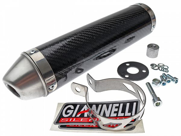 Silencer for Giannelli Enduro - Carbon
