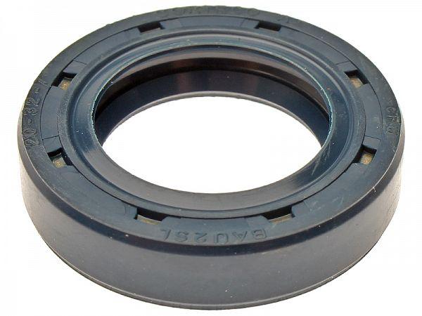 Simmer ring at crank, left - original