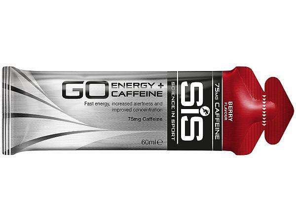 SiS GO Energy + Koffein Bær Gel, 60ml