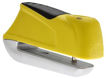 Skivebremselås - Abus Trigger Alarm 345, gul