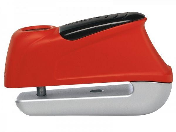 Skivebremselås - Abus Trigger Alarm 345, rød