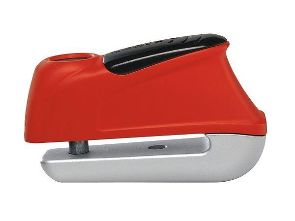 Skivebremselås - Abus Trigger Alarm 350, rød