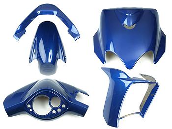 Skjoldsæt - Blå