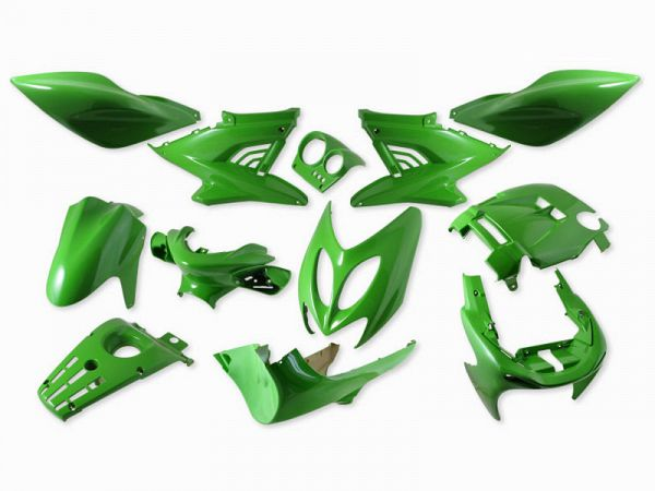 Skjoldsæt - Kawasakigrøn