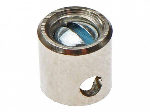 Skruenippel til kabel ø1,8 - 5,5x5,5mm