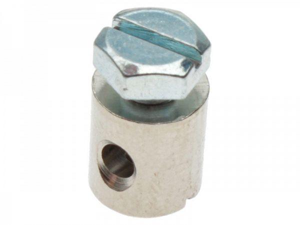 Skruenippel til kabel ø2,5 - 8x9mm