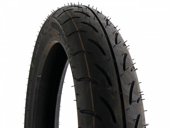 Sommerdæk - Bridgestone Battlax SC 100/80-16 (fordæk)