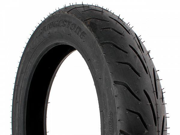 Sommerdæk - Bridgestone Battlax SC 100/90-14 (bagdæk)