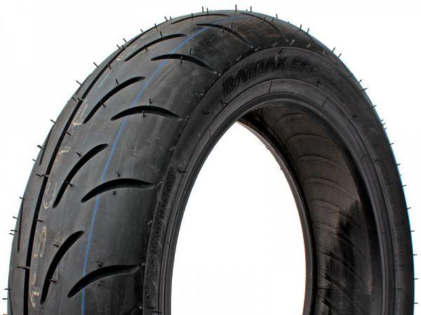 "Sommerdæk - Bridgestone Battlax SC - 12"", 120/70-12"