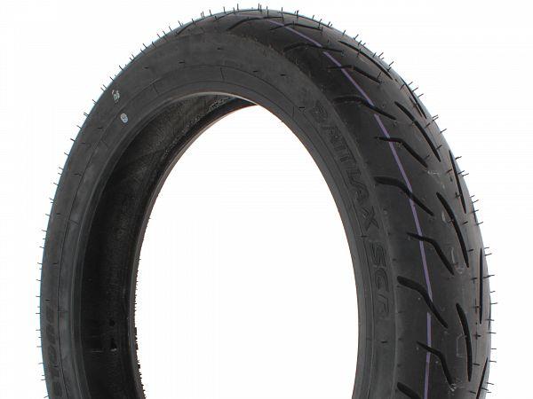 Sommerdæk - Bridgestone Battlax SC 90/80-14 (bagdæk)