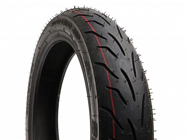 Sommerdæk - Bridgestone Battlax SC 90/90-14 (bagdæk)