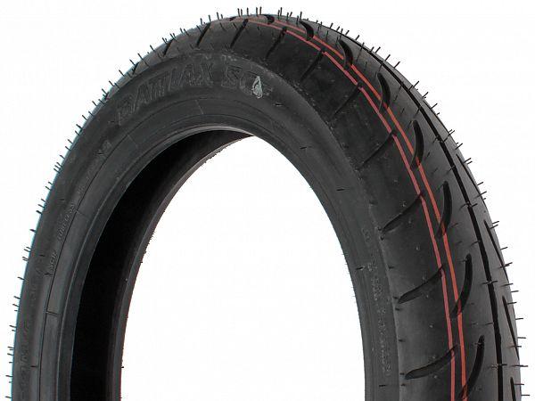 Sommerdæk - Bridgestone Battlax SC 90/90-14 (fordæk)