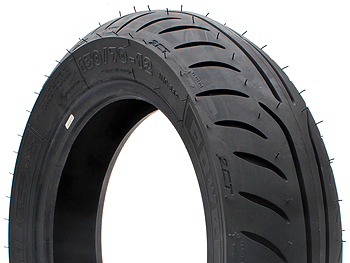 "Sommerdæk - Michelin Power Pure - 12"", 130/70-12"