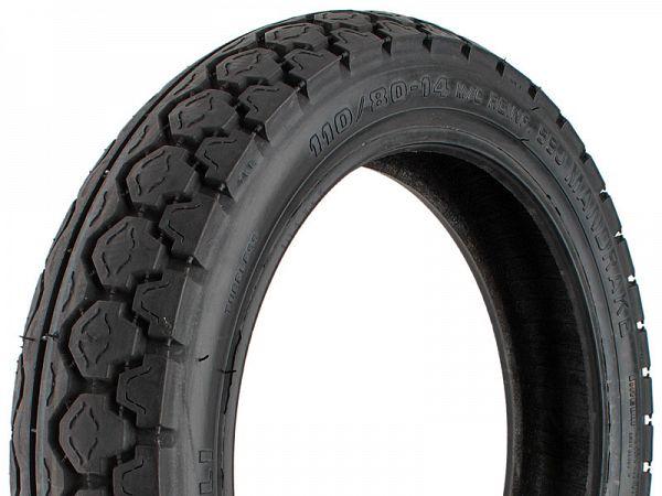 Sommerdæk - Pirelli Mandrake MT15 - 80/80-16