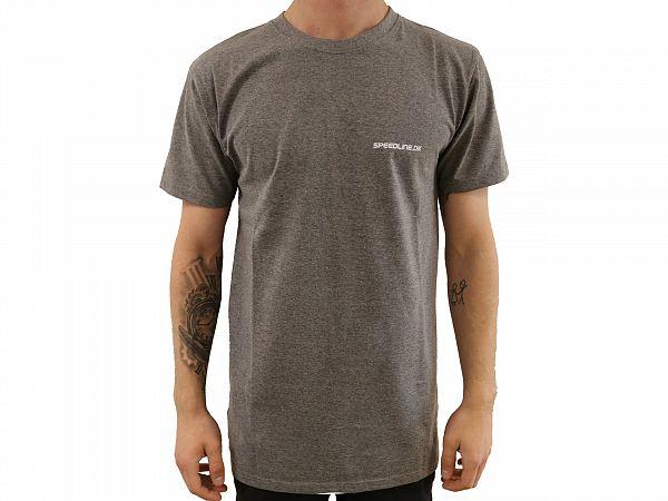 Speedline.dk Light Grey T-shirt, x-large