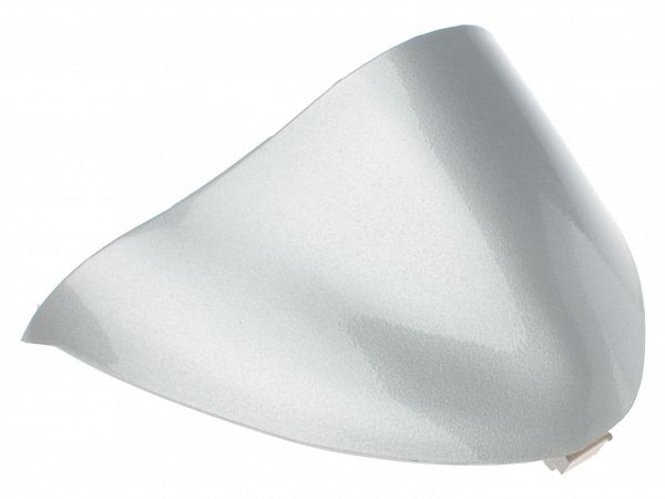 Speedometer cover, silver