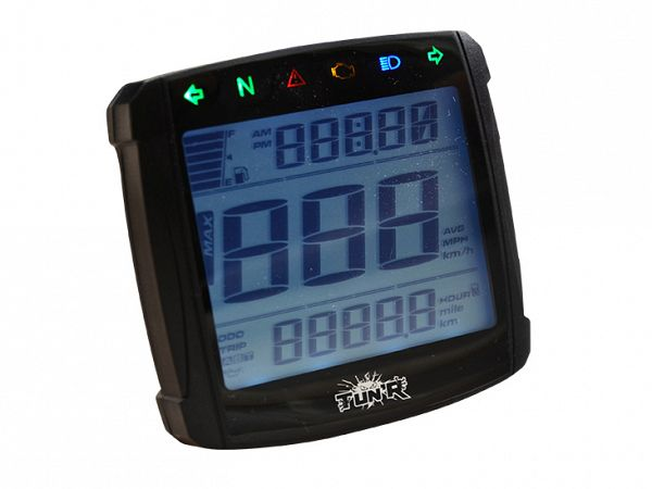 Speedometer - TunR Digitalt LCD