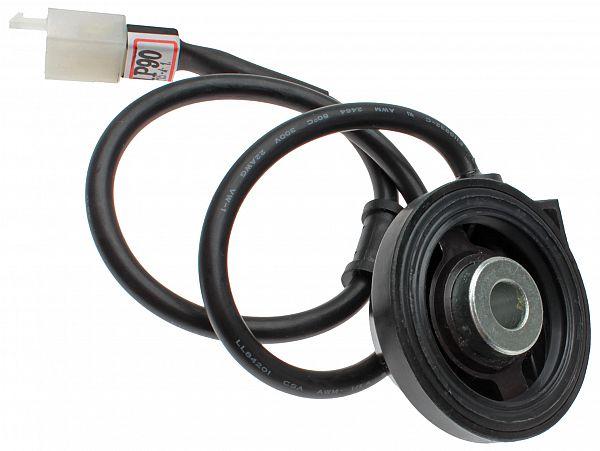 Speedometerdrev inkl. kabel til digitalt speedometer - originalt