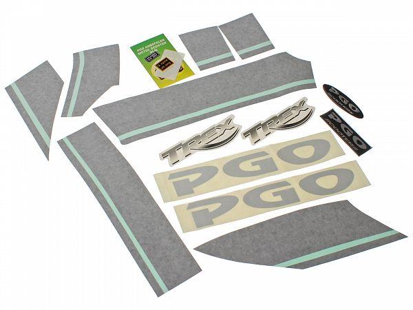 Spelling set - PGO Dr. Big stripes - original