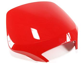 Spoiler by steering shield - red