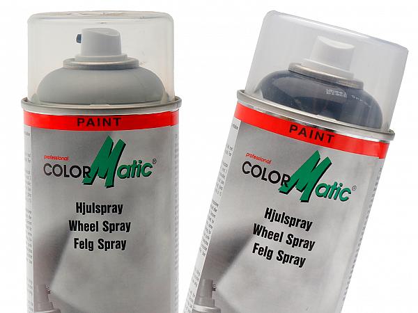 Spray paint - ColorMatic rim spray