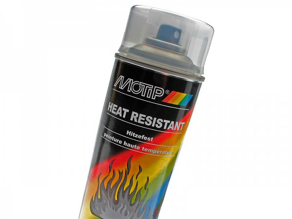 Spray paint - MoTip Clear Heat Resistant - 800 °