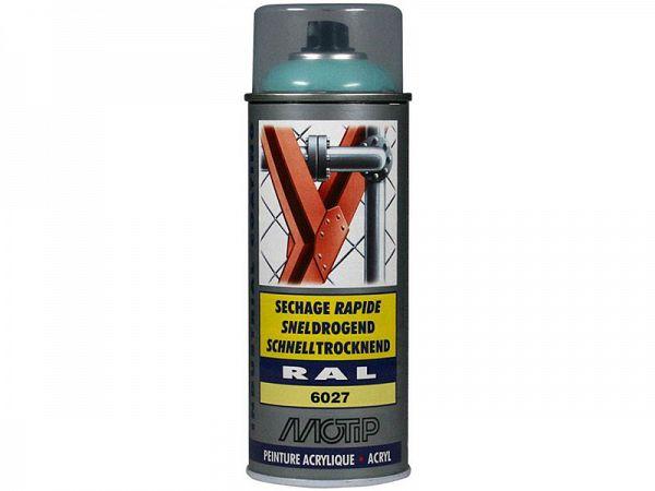 Spray paint - MoTip Ral, 6019 high gloss light green, 400ml