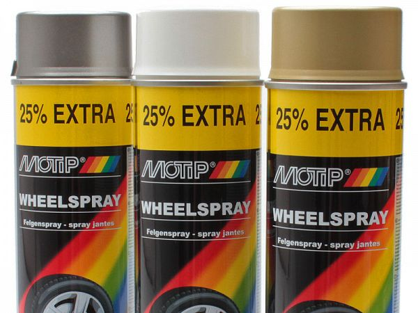Spray paint - MoTip Rim spray, 500ml