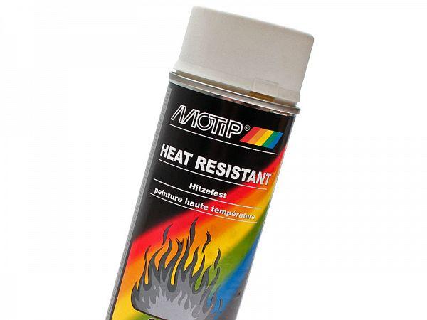 Spraymaling - MoTip Hvid Varmefast - 800°