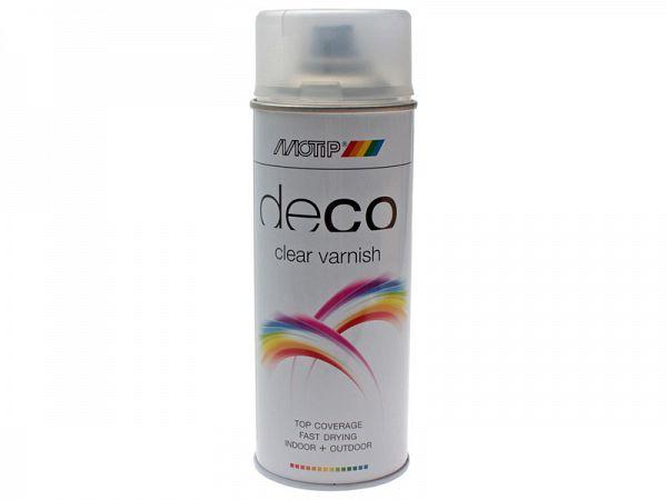 Spraymaling - MoTip mat klarlak 400 ml
