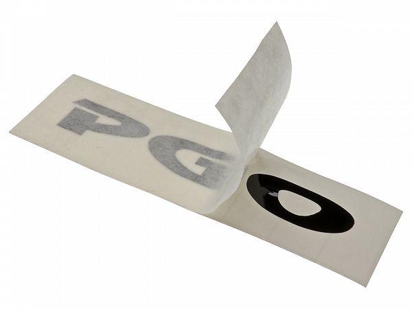 Staffering - PGO - 7x1 cm, sort