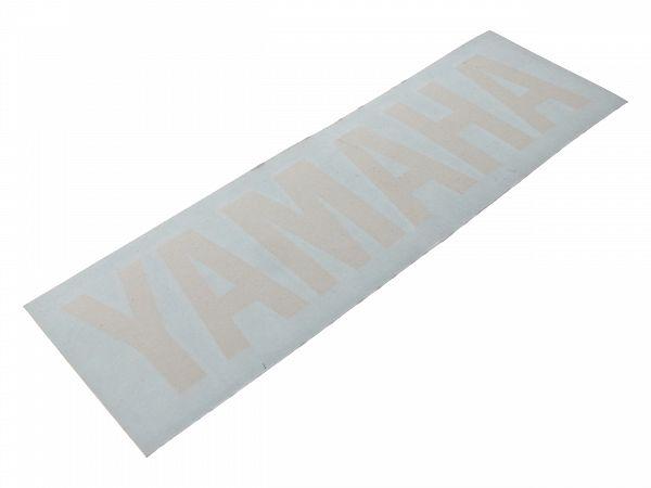 Staffering - Yamaha - 16x4 cm, hvid