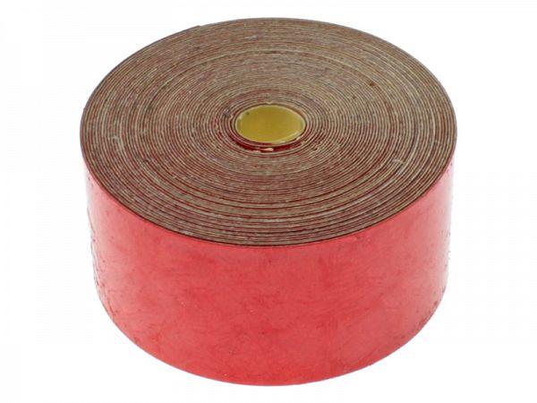 Stafferingsbånd med refleks 1,5 x 300cm, rød