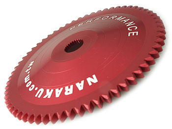 Starterhjul ved variator - Naraku HS-CNC V.2
